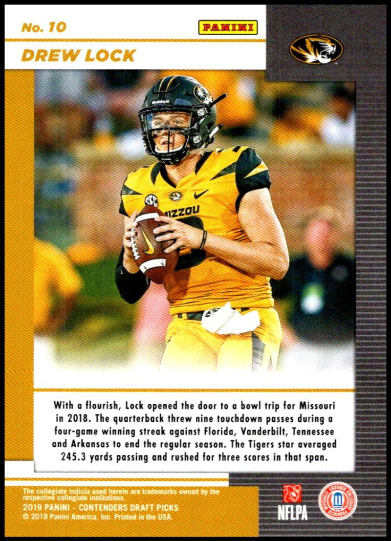 2019-Panini-Contenders-Draft-Game-Day-Ticket-Rookie-Football-Card-Pick-RC thumbnail 21