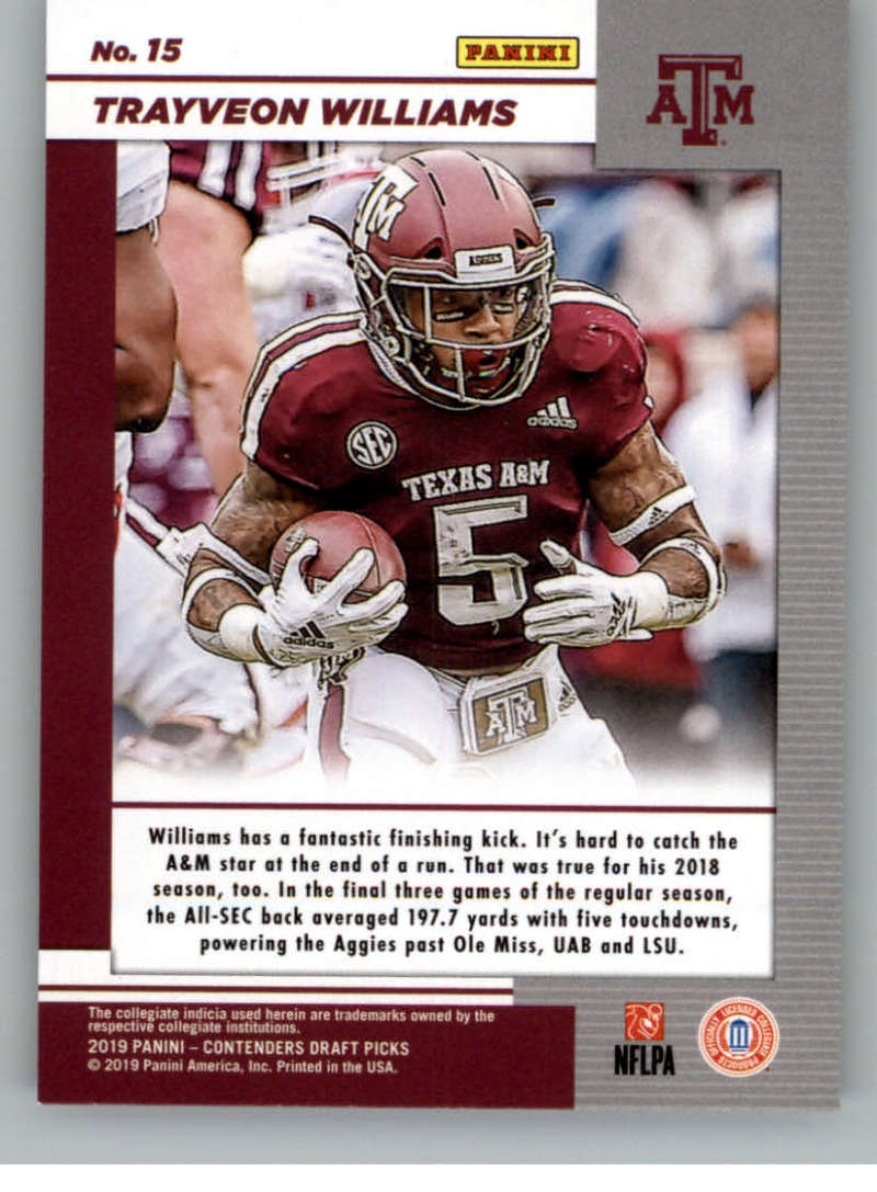 2019-Panini-Contenders-Draft-Game-Day-Ticket-Rookie-Football-Card-Pick-RC thumbnail 29