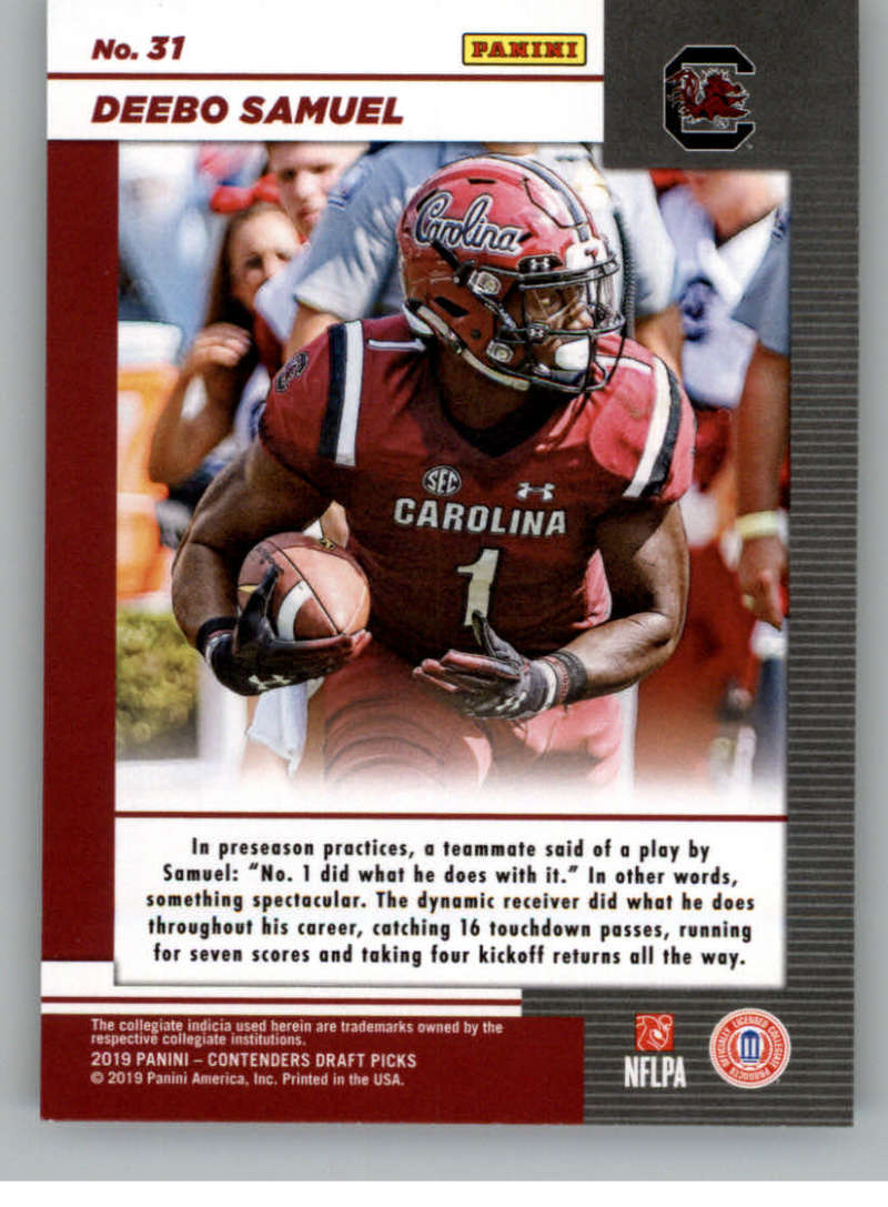 2019-Panini-Contenders-Draft-Game-Day-Ticket-Rookie-Football-Card-Pick-RC thumbnail 57