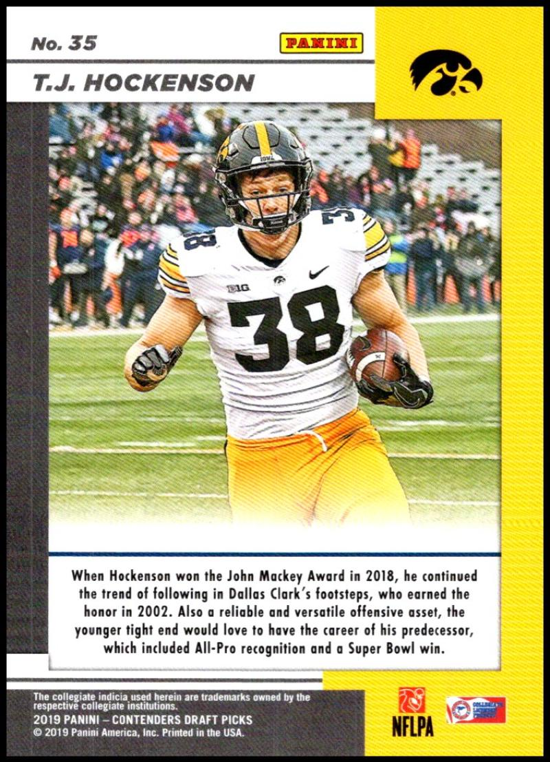 2019-Panini-Contenders-Draft-Game-Day-Ticket-Rookie-Football-Card-Pick-RC thumbnail 65