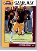 2019 Panini Contenders Draft Picks Game Day Ticket #8 N'Keal Harry Arizona State Sun Devils  Official Collegiate RC Rookie Football Card of the NFL Dr