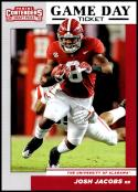 2019 Panini Contenders Draft Picks Game Day Ticket #28 Josh Jacobs Alabama Crimson Tide  Official Collegiate RC Rookie Football Card of the NFL Draft