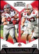 2019 Panini Contenders Draft Picks Legacy #2 Joey Bosa/Nick Bosa Ohio State Buckeyes  Official Collegiate Football Card of the NFL Draft