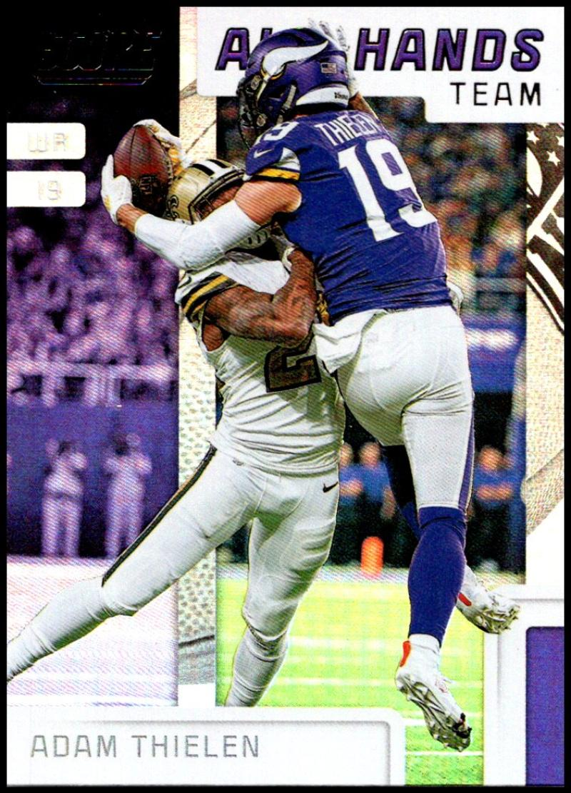 miniature 4 - 2019 Score All Hands Team NFL Football Card Singles You Pick Buy 4 Get 2 FREE
