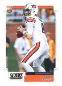 2019 Score Football #336 Jarrett Stidham Auburn Tigers Rookie RC  Official NFL Trading Card made by Panini
