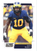 2019 Score #370 Devin Bush II NM-MT+ Michigan Wolverines  Officially Licensed NFL Football Trading Card