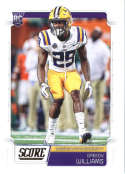 2019 Score #374 Greedy Williams NM-MT+ LSU Tigers  Officially Licensed NFL Football Trading Card