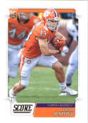 2019 Score #385 Hunter Renfrow NM-MT+ Clemson Tigers  Officially Licensed NFL Football Trading Card