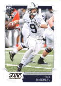 2019 Score #413 Trace McSorley NM-MT+ Penn State Nittany Lions  Officially Licensed NFL Football Trading Card