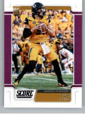 2019 NFL Score PURPLE Parallel #334 Drew Lock Missouri Tigers Rookie RC  Broncos Official Football Card by Panini