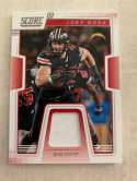 2019 Score Collegiate Jerseys CJ-11 Joey Bosa Swatch Ohio State Buckeyes  Official NFL Panini Football Memorabilia Trading Card