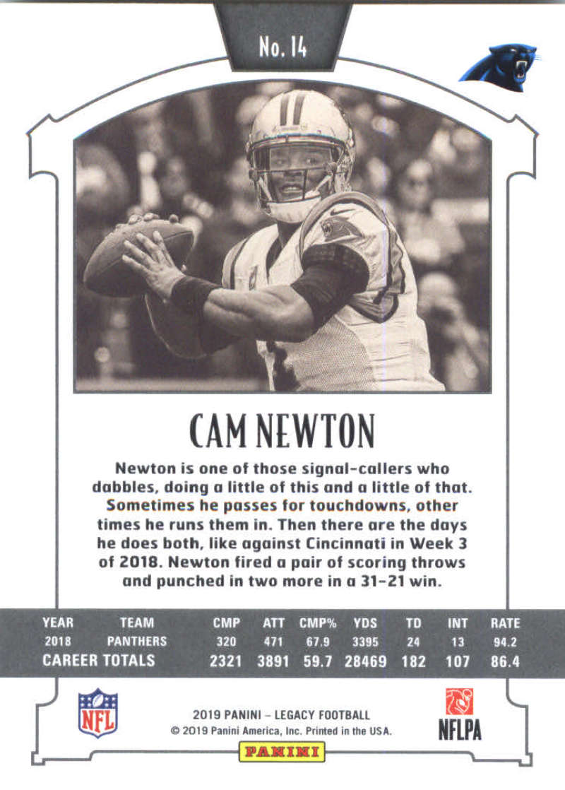 2019-Panini-Legacy-Football-Card-Pick-Including-Rookie-Cards-RC-1-200 thumbnail 29