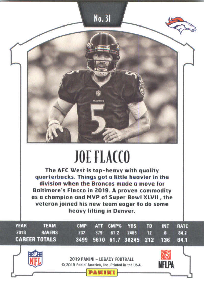 2019-Panini-Legacy-Football-Card-Pick-Including-Rookie-Cards-RC-1-200 thumbnail 63