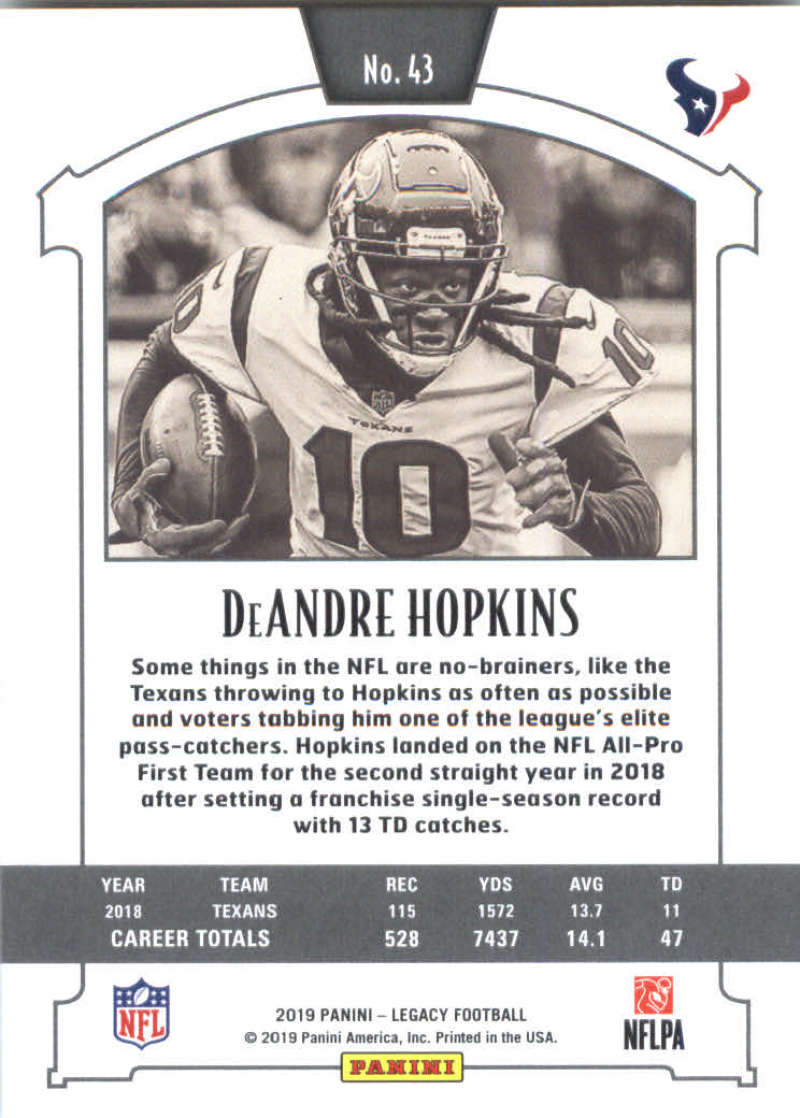 2019-Panini-Legacy-Football-Card-Pick-Including-Rookie-Cards-RC-1-200 thumbnail 87