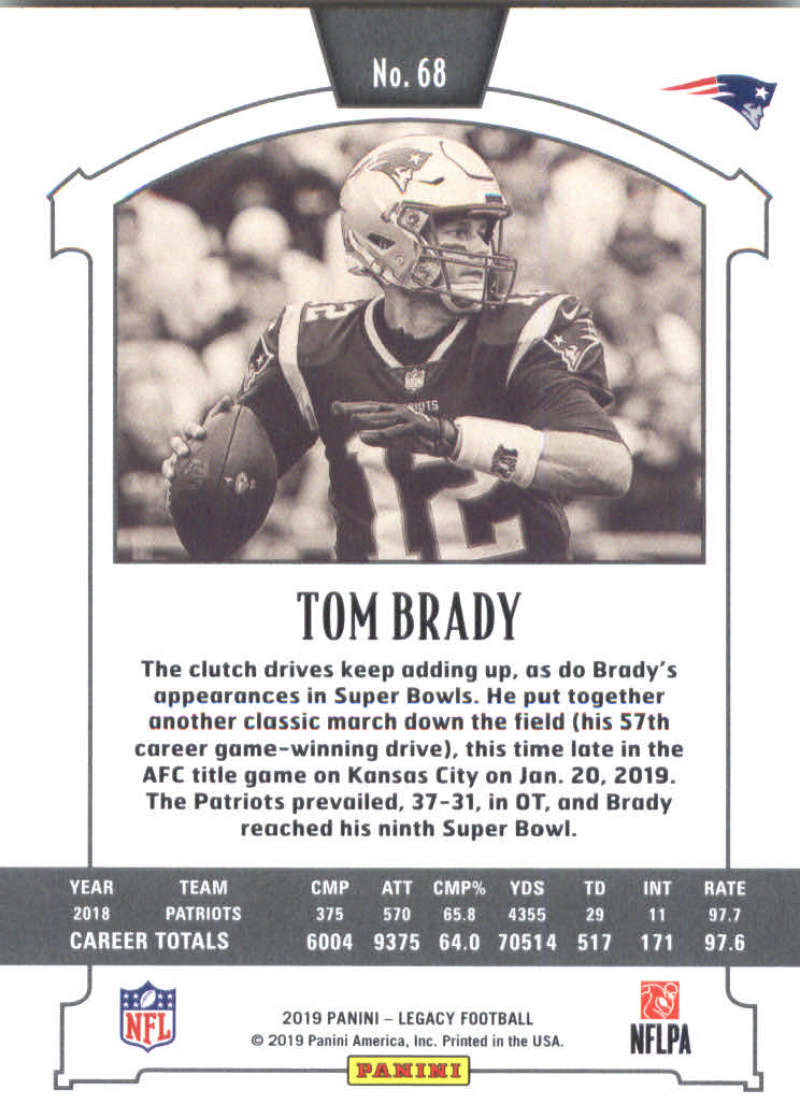2019-Panini-Legacy-Football-Card-Pick-Including-Rookie-Cards-RC-1-200 thumbnail 137
