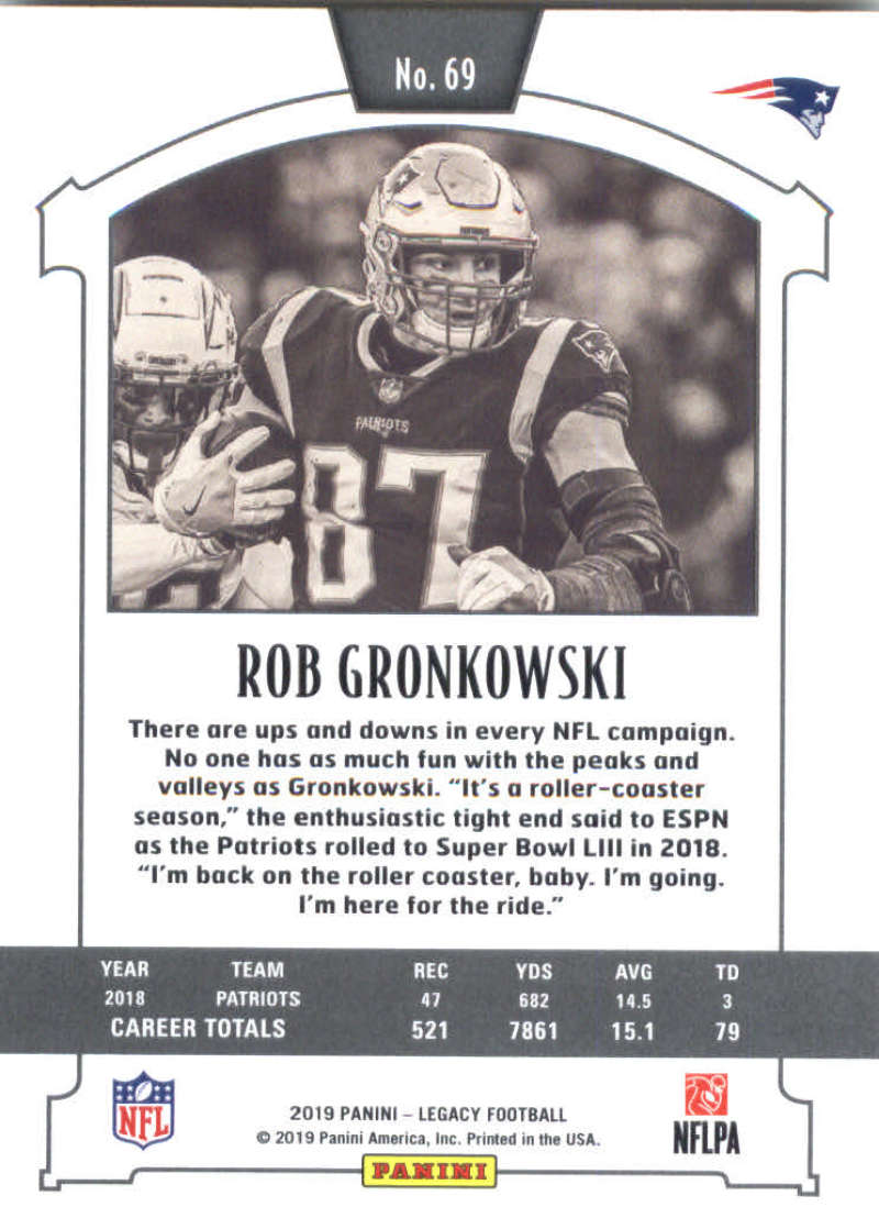 2019-Panini-Legacy-Football-Card-Pick-Including-Rookie-Cards-RC-1-200 thumbnail 139