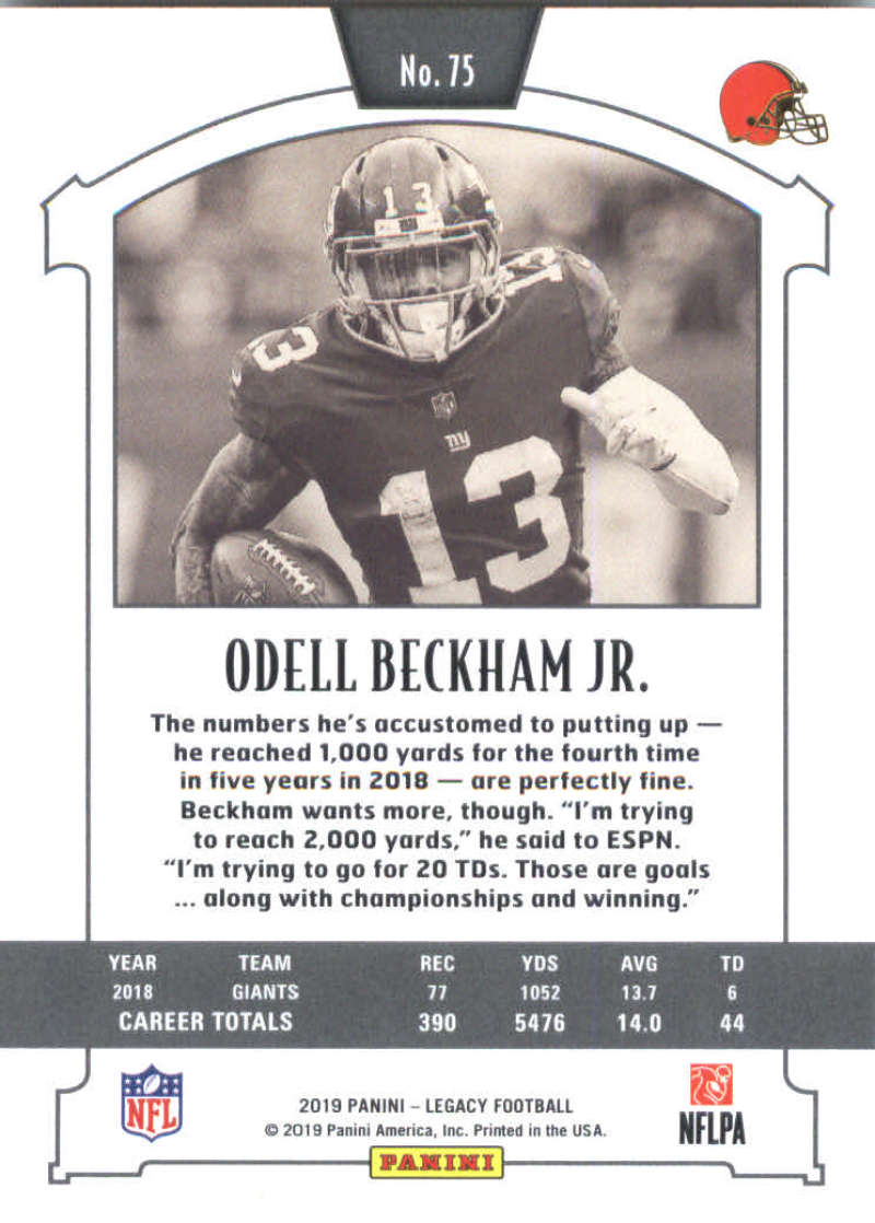 2019-Panini-Legacy-Football-Card-Pick-Including-Rookie-Cards-RC-1-200 thumbnail 151