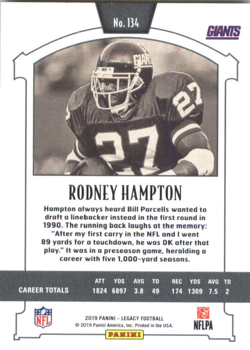 2019-Panini-Legacy-Football-Card-Pick-Including-Rookie-Cards-RC-1-200 thumbnail 267