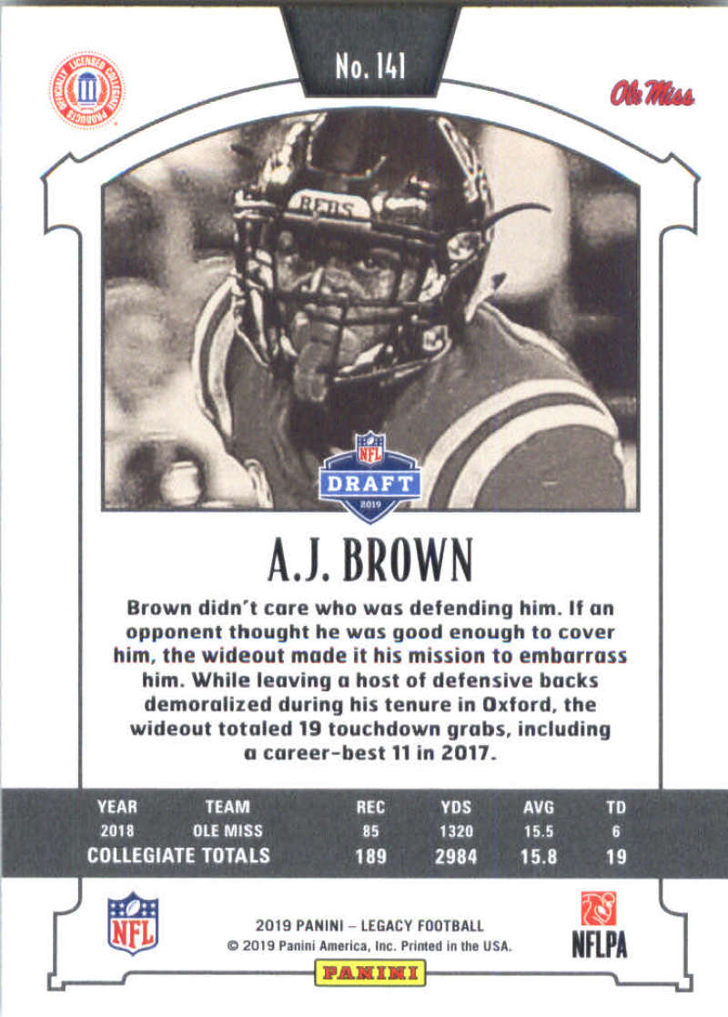 2019-Panini-Legacy-Football-Card-Pick-Including-Rookie-Cards-RC-1-200 thumbnail 279