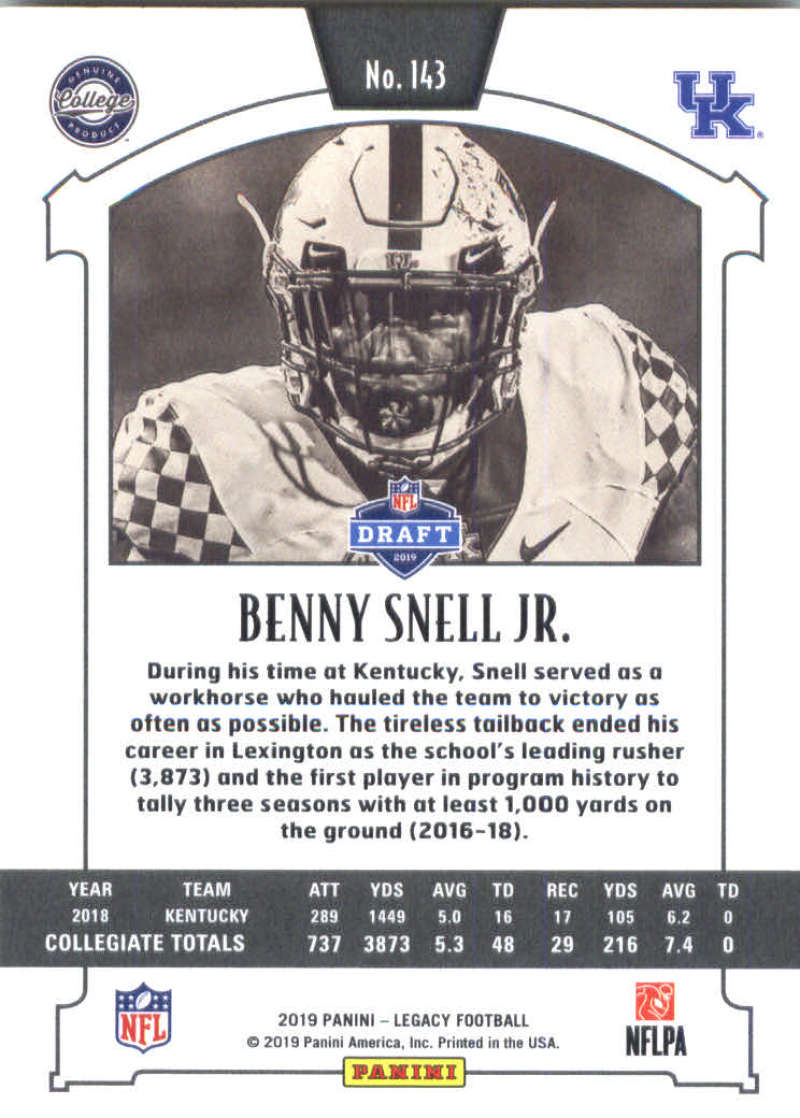 2019-Panini-Legacy-Football-Card-Pick-Including-Rookie-Cards-RC-1-200 thumbnail 283
