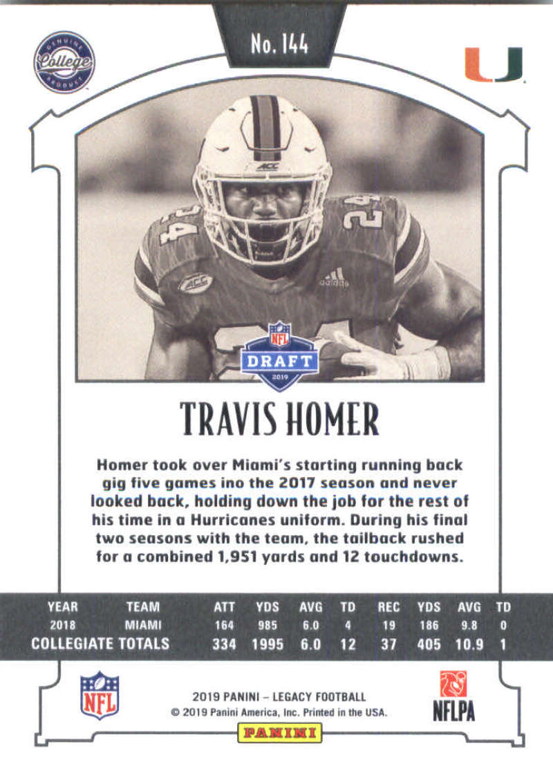 2019-Panini-Legacy-Football-Card-Pick-Including-Rookie-Cards-RC-1-200 thumbnail 285