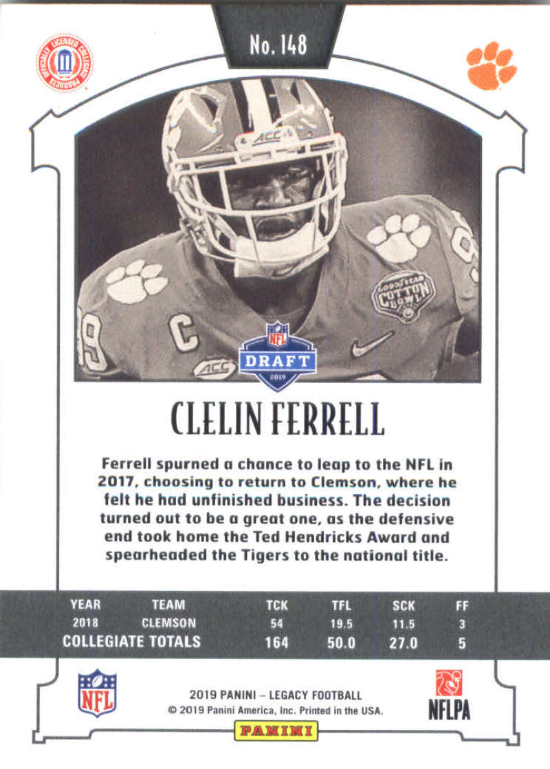 2019-Panini-Legacy-Football-Card-Pick-Including-Rookie-Cards-RC-1-200 thumbnail 293