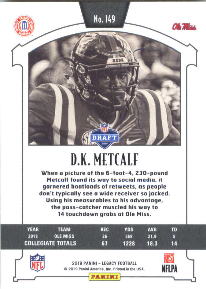 2019-Panini-Legacy-Football-Card-Pick-Including-Rookie-Cards-RC-1-200 thumbnail 295