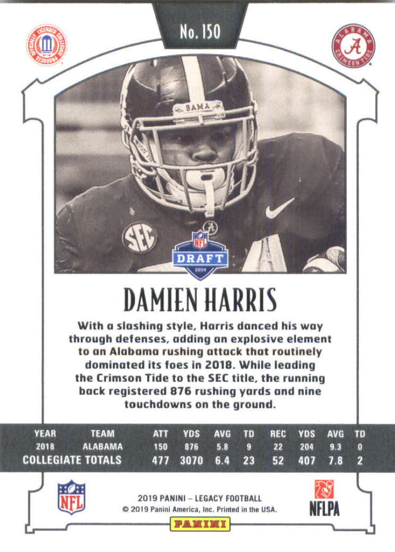 2019-Panini-Legacy-Football-Card-Pick-Including-Rookie-Cards-RC-1-200 thumbnail 297