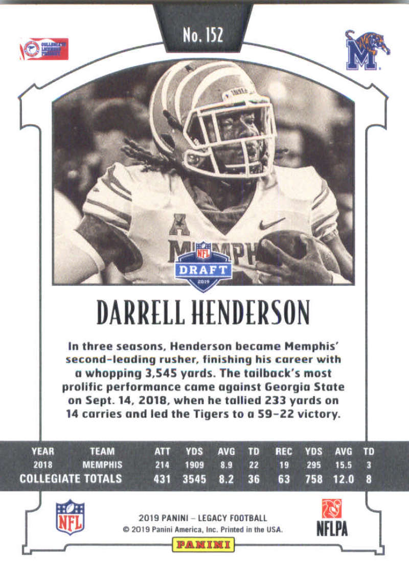 2019-Panini-Legacy-Football-Card-Pick-Including-Rookie-Cards-RC-1-200 thumbnail 301