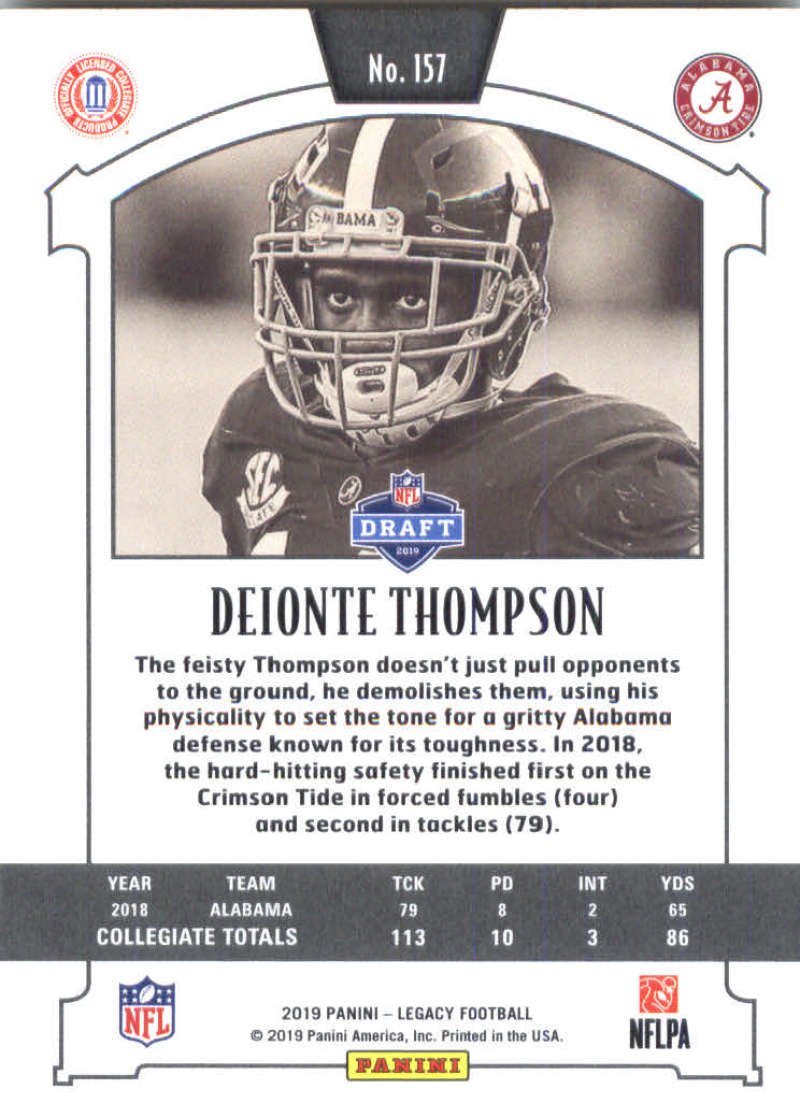 2019-Panini-Legacy-Football-Card-Pick-Including-Rookie-Cards-RC-1-200 thumbnail 311