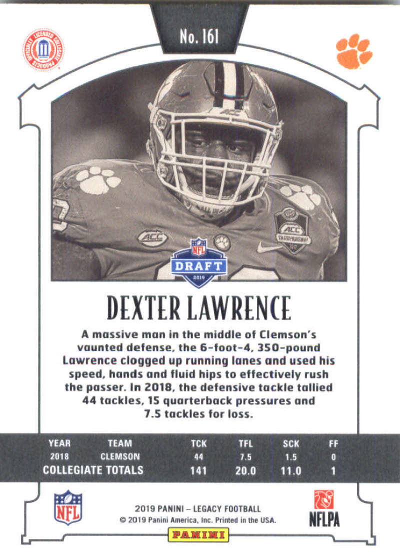 2019-Panini-Legacy-Football-Card-Pick-Including-Rookie-Cards-RC-1-200 thumbnail 319
