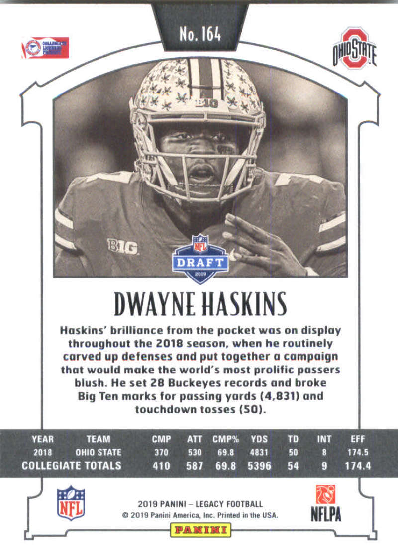 2019-Panini-Legacy-Football-Card-Pick-Including-Rookie-Cards-RC-1-200 thumbnail 325