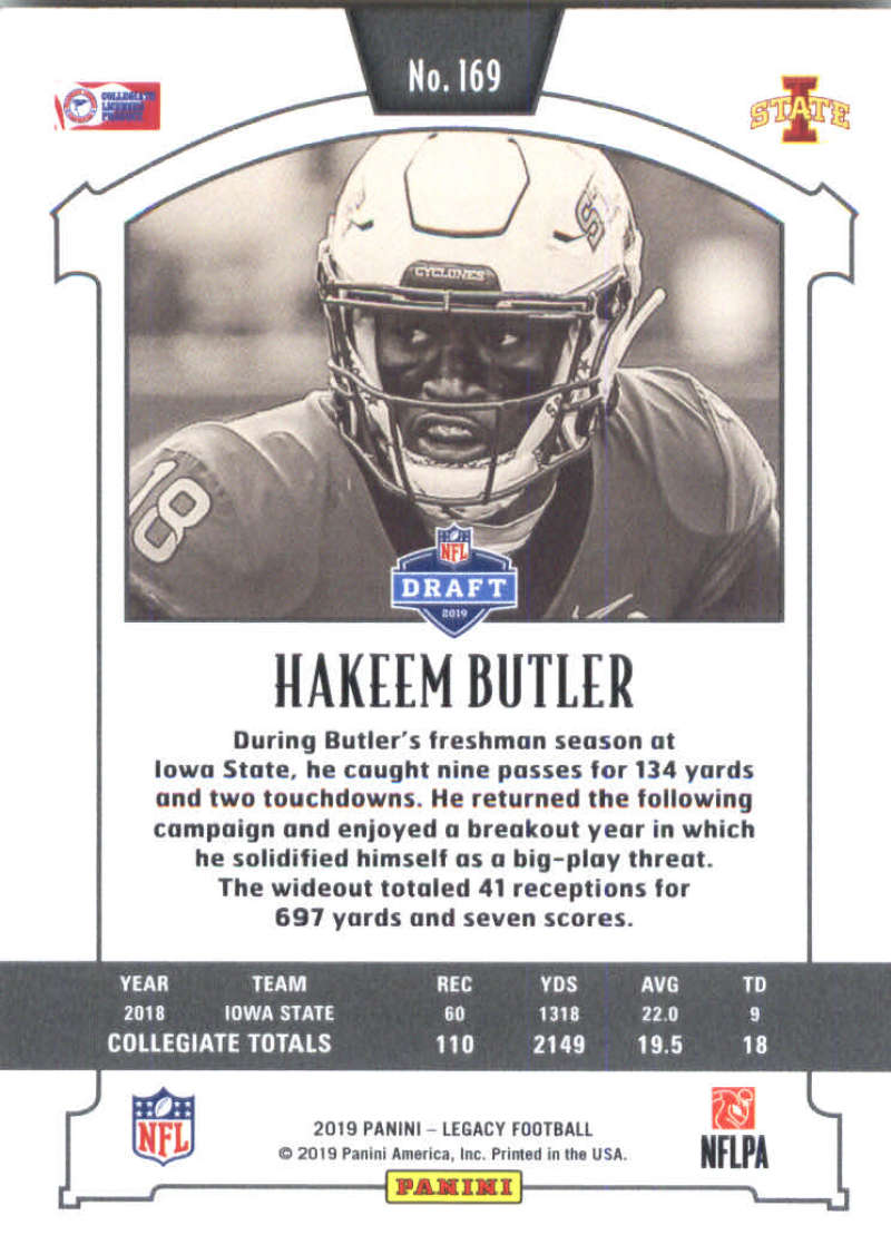 2019-Panini-Legacy-Football-Card-Pick-Including-Rookie-Cards-RC-1-200 thumbnail 335