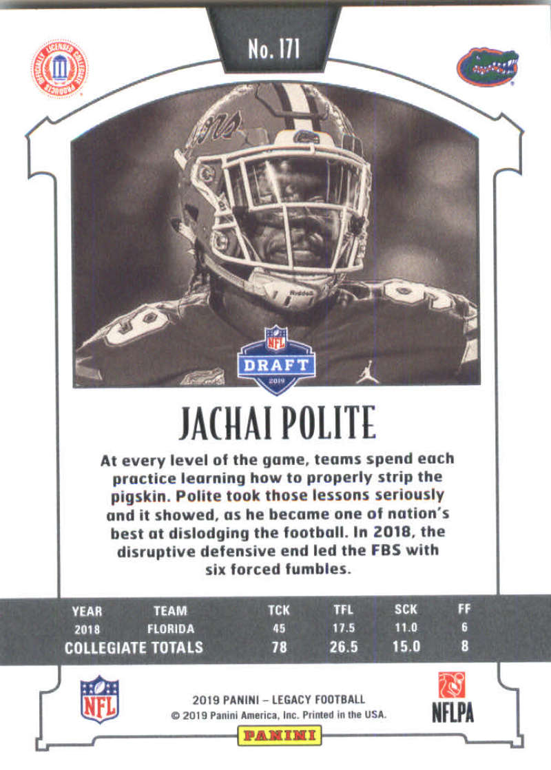 2019-Panini-Legacy-Football-Card-Pick-Including-Rookie-Cards-RC-1-200 thumbnail 339