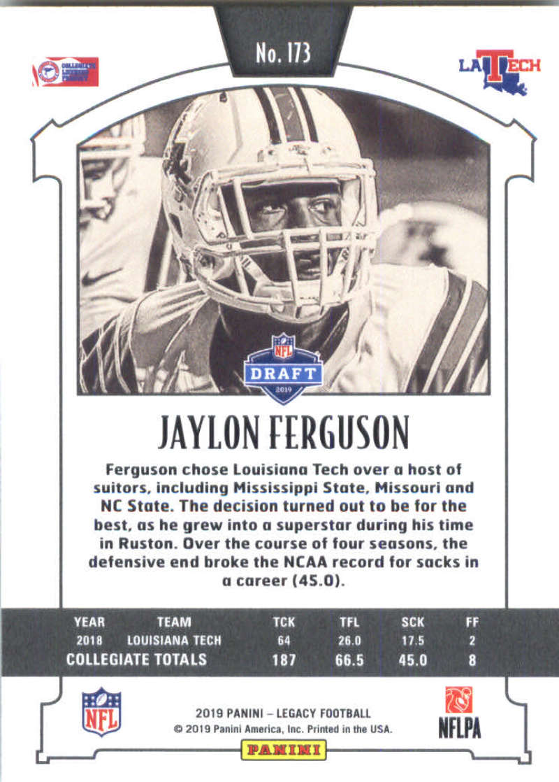 2019-Panini-Legacy-Football-Card-Pick-Including-Rookie-Cards-RC-1-200 thumbnail 343