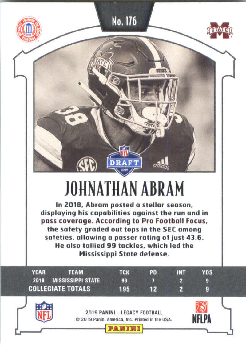 2019-Panini-Legacy-Football-Card-Pick-Including-Rookie-Cards-RC-1-200 thumbnail 349