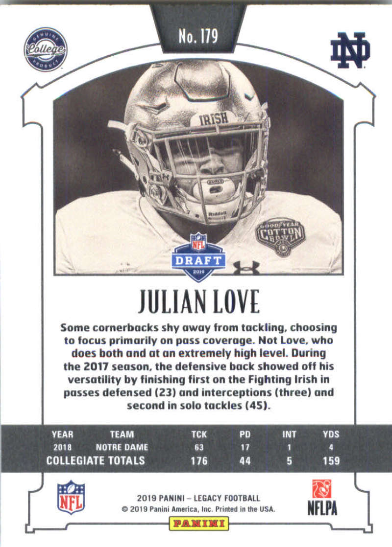 2019-Panini-Legacy-Football-Card-Pick-Including-Rookie-Cards-RC-1-200 thumbnail 355