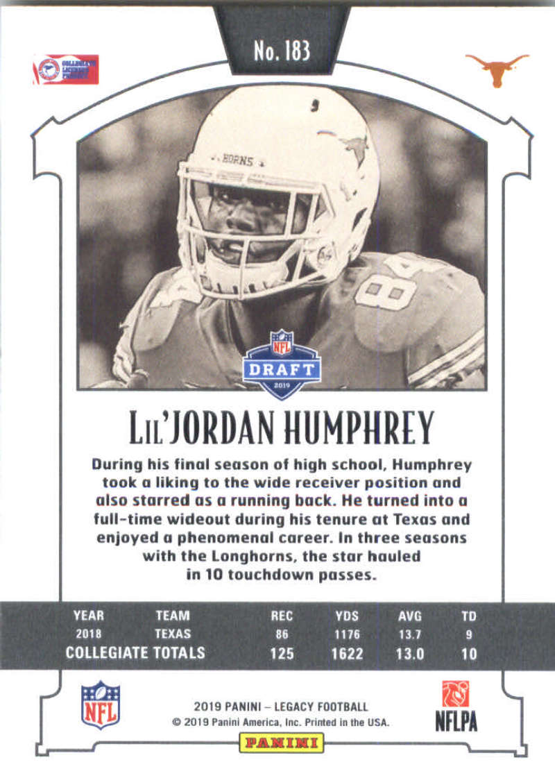 2019-Panini-Legacy-Football-Card-Pick-Including-Rookie-Cards-RC-1-200 thumbnail 363