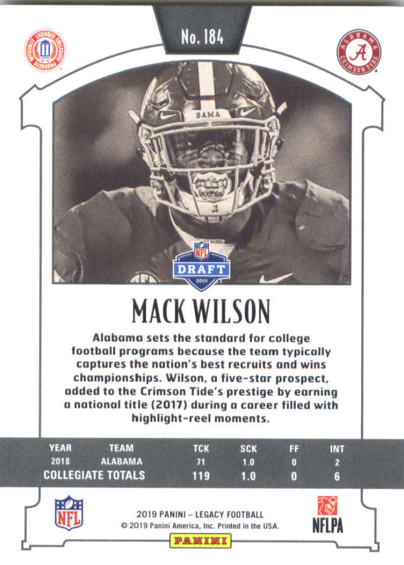 2019-Panini-Legacy-Football-Card-Pick-Including-Rookie-Cards-RC-1-200 thumbnail 365