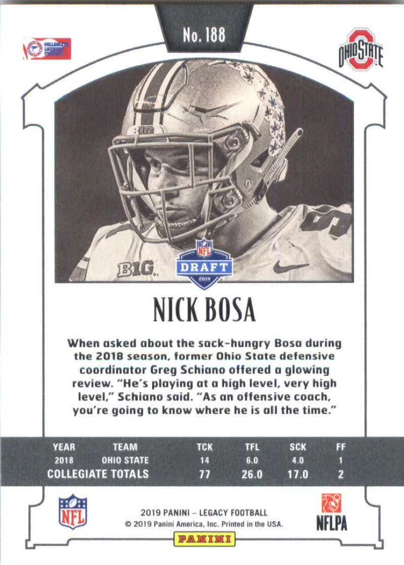 2019-Panini-Legacy-Football-Card-Pick-Including-Rookie-Cards-RC-1-200 thumbnail 373