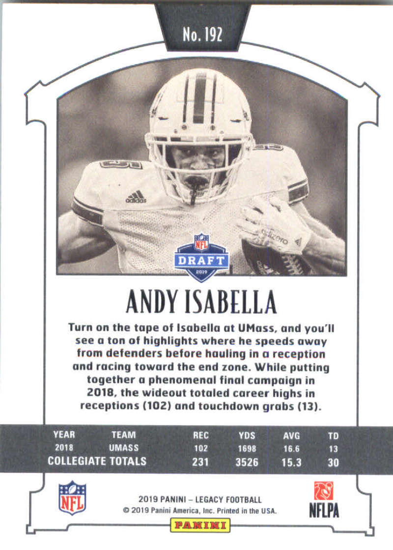 2019-Panini-Legacy-Football-Card-Pick-Including-Rookie-Cards-RC-1-200 thumbnail 381