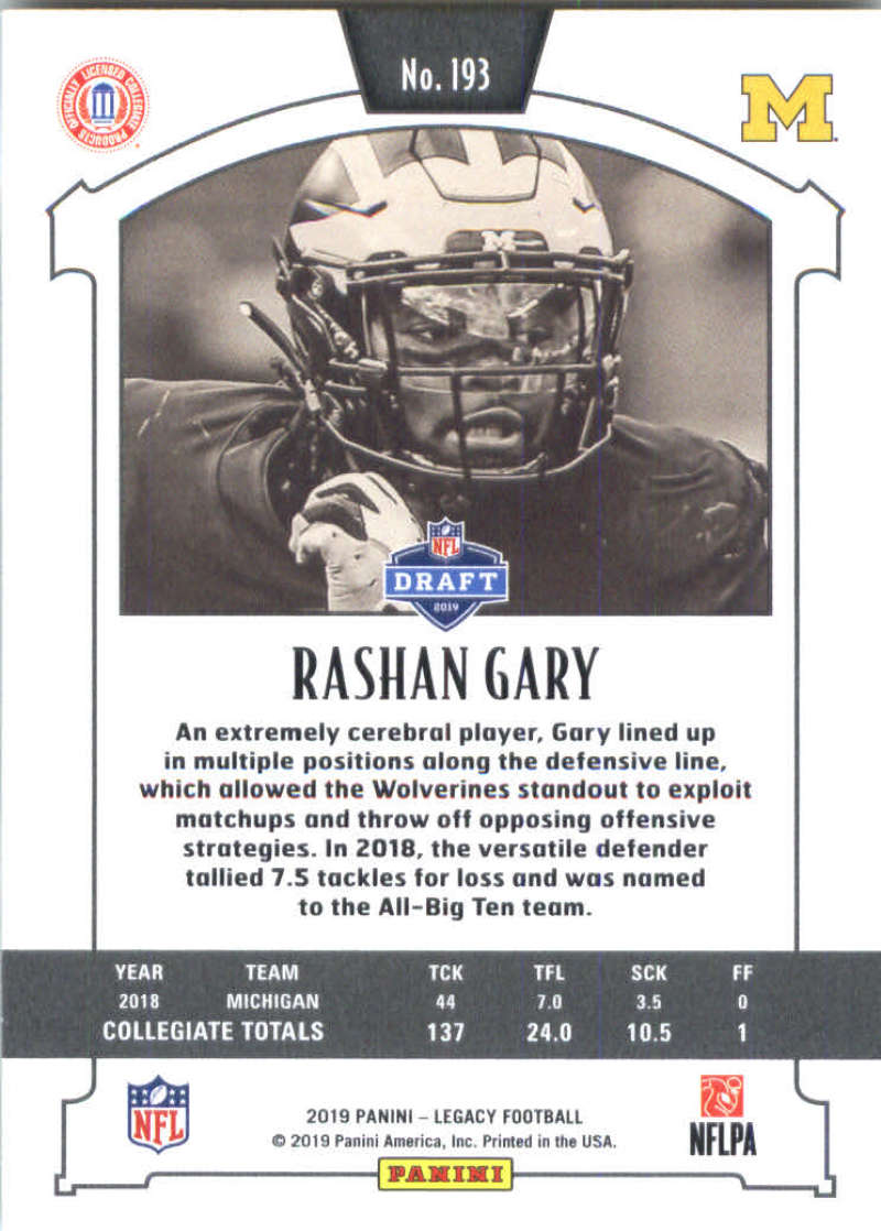2019-Panini-Legacy-Football-Card-Pick-Including-Rookie-Cards-RC-1-200 thumbnail 383