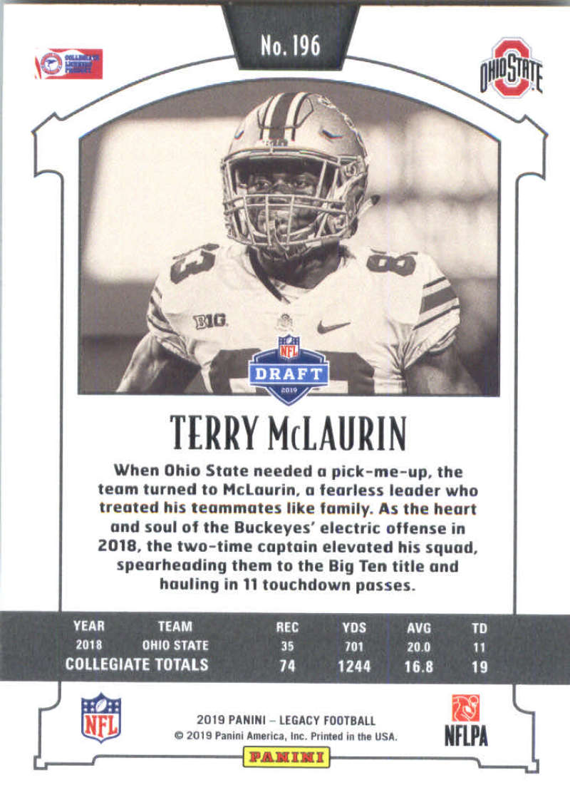 2019-Panini-Legacy-Football-Card-Pick-Including-Rookie-Cards-RC-1-200 thumbnail 389