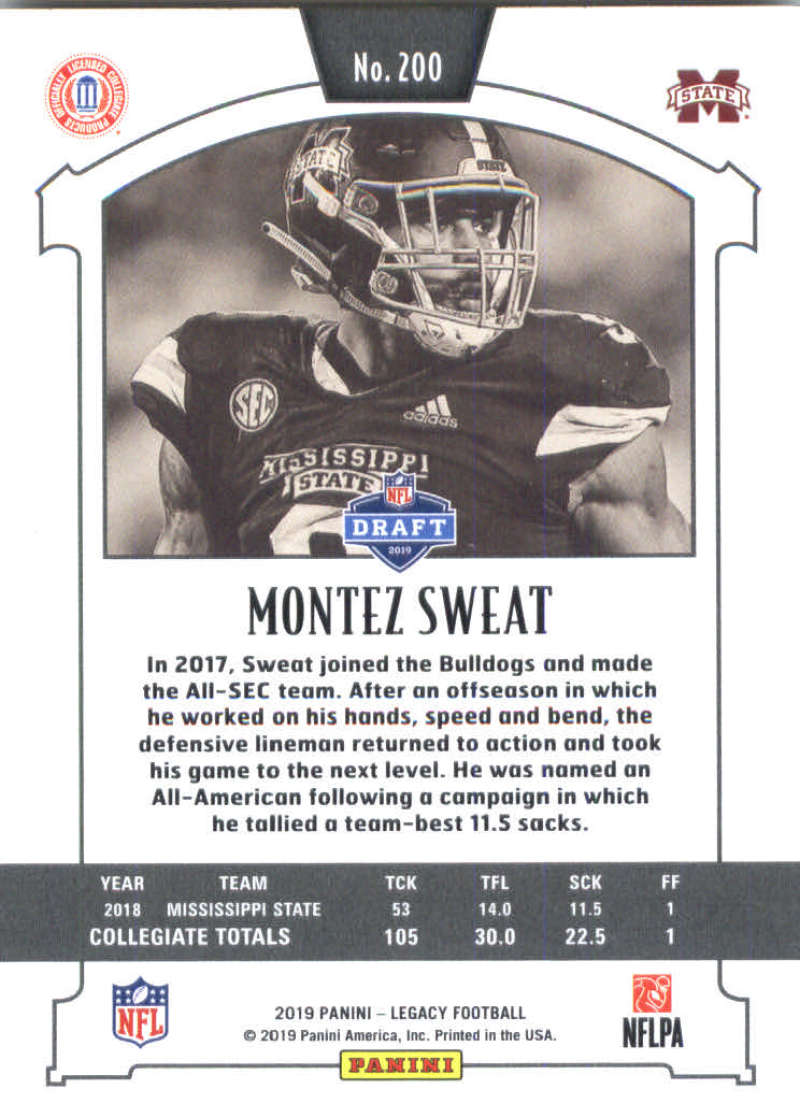 2019-Panini-Legacy-Football-Card-Pick-Including-Rookie-Cards-RC-1-200 thumbnail 397