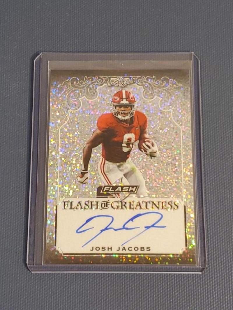 2019 Leaf Flash Greatness Autographs Silver