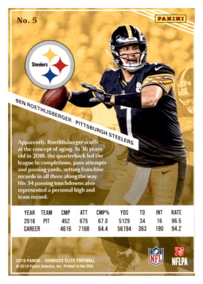2019-Donruss-Elite-NFL-Panini-Football-Singles-Pick-Your-Cards-Lot-Finish-Set thumbnail 11