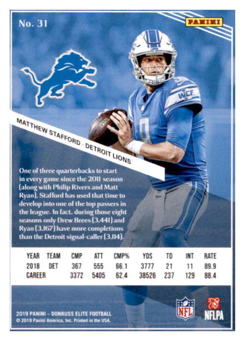 2019-Donruss-Elite-NFL-Panini-Football-Singles-Pick-Your-Cards-Lot-Finish-Set thumbnail 63