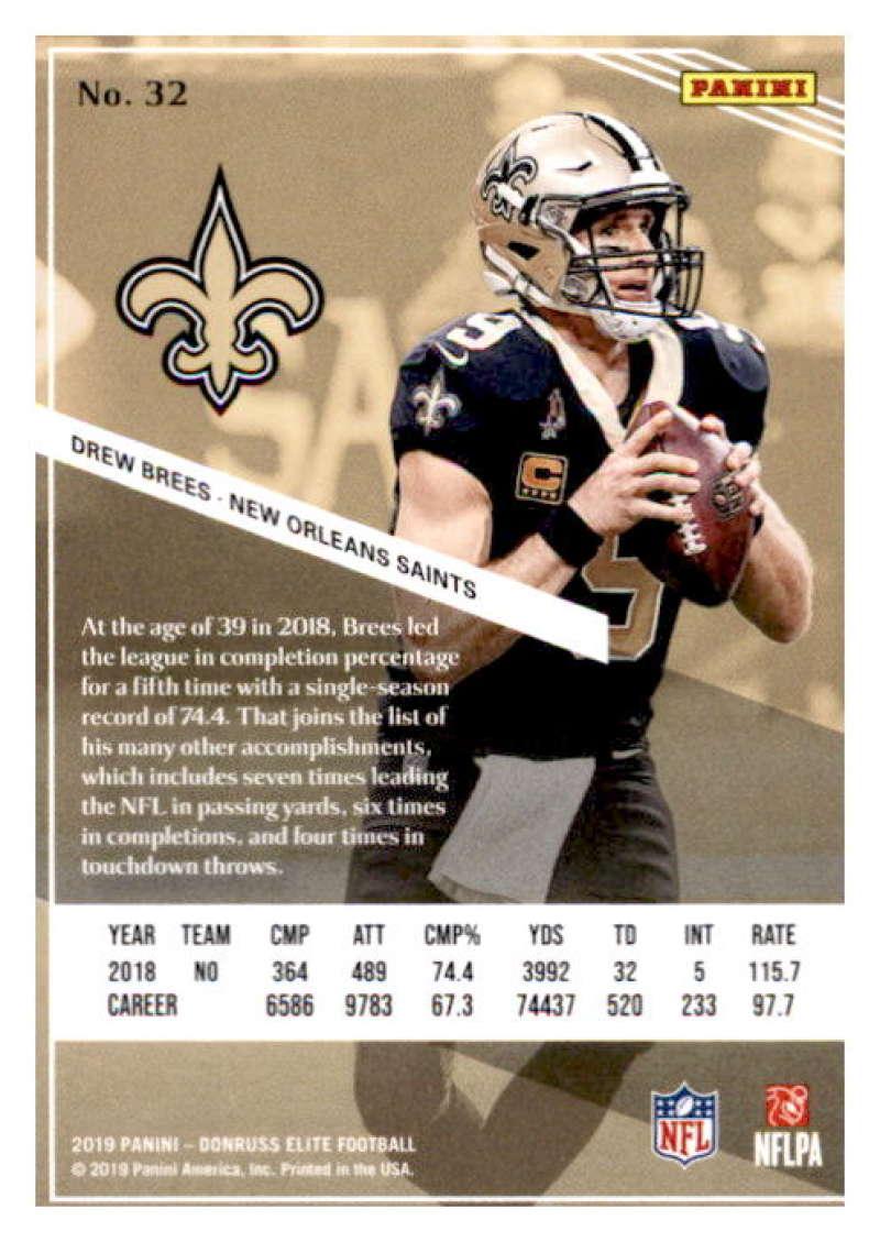 2019-Donruss-Elite-NFL-Panini-Football-Singles-Pick-Your-Cards-Lot-Finish-Set thumbnail 65