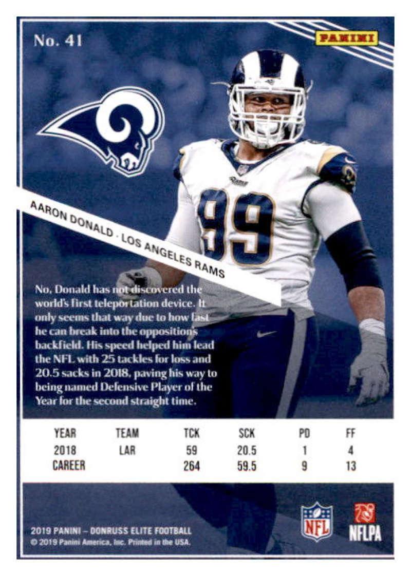 2019-Donruss-Elite-NFL-Panini-Football-Singles-Pick-Your-Cards-Lot-Finish-Set thumbnail 83