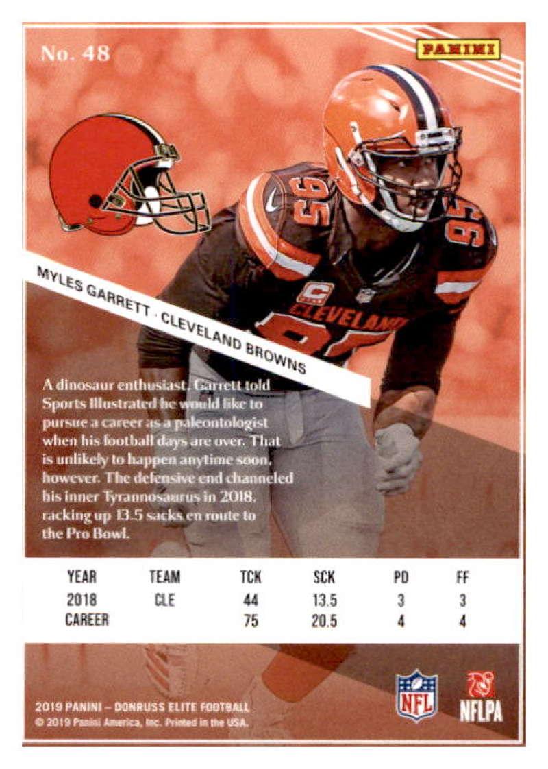 2019-Donruss-Elite-NFL-Panini-Football-Singles-Pick-Your-Cards-Lot-Finish-Set thumbnail 97